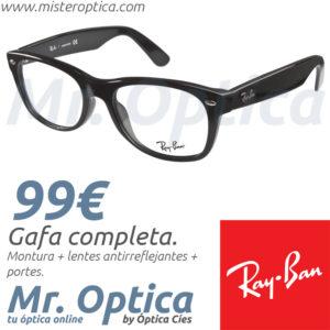 Ray Ban RayBan RB5184 2000 en Míster Óptica Online
