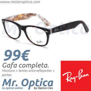 Ray Ban RB5184 5409 en Mister Optica Online