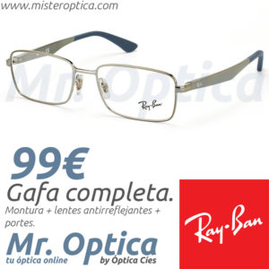 Ray Ban RayBan RB6333 2853 Active Lifestyle en Mister Optica