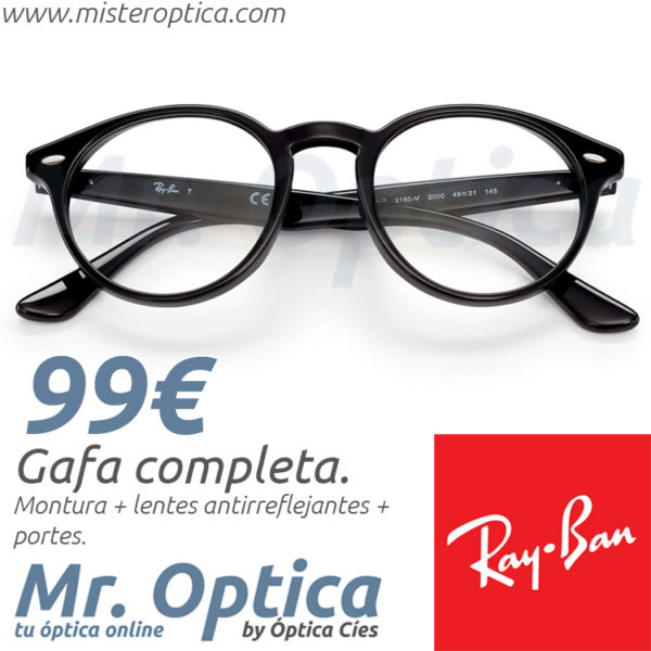 Ray Ban RB2180V 2000 en Mister Optica