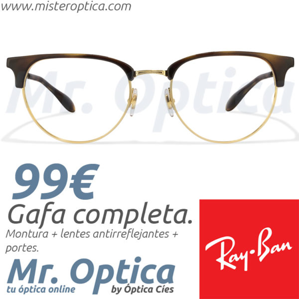 06aa814aaa Ray Ban RB6396 2933 51/19 140 - Míster Óptica Online