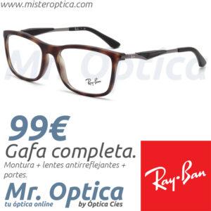 Ray Ban RB7029 5200 en Mister Optica Online