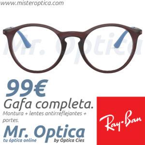Ray Ban RB7132 5720 en Mister Optica Online