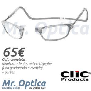Clic Vision en Míster Óptica Online