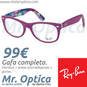 Ray Ban RB5184 5408 Mister Optica
