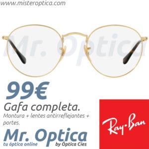 Ray Ban RB3447V Round Metal 2500 en Mister Optica Online