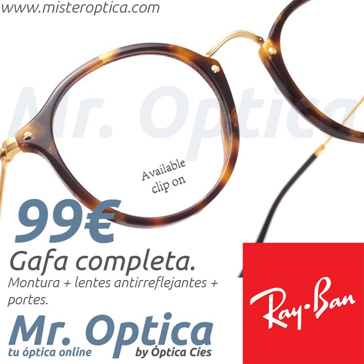 RayBan RB2447V 5494 en Míster Óptica Online