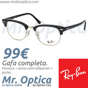 Ray Ban RB5154 Clubmaster 2000 en Mister Optica Online