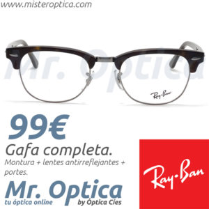 Ray Ban RB5154 Clubmaster 2012 en Mister Optica Online