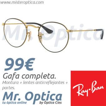 RayBan RB3447V Round Metal 2991 en Míster Óptica Online