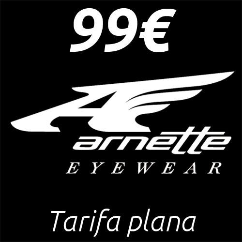 Tarifa plana de gafas Arnette en Mister Óptica Online