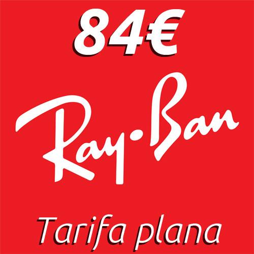 Tarifa plana de gafas Ray Ban en Mister Óptica Online