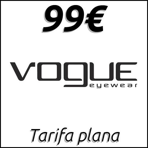 Tarifa plana de gafas Vogue en Mister Óptica Online