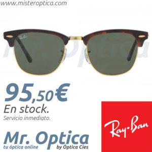 Gafas de sol Ray Ban RB3016 Clubmaster W0366 en Míster Óptica Online