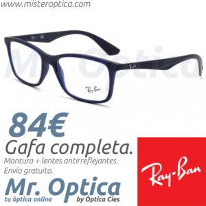 Ray Ban RB7047 5450 Clubmaster 5762 en Míster Óptica Online